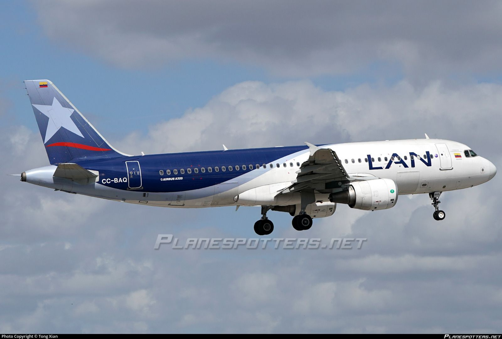 CCBAQ LAN Airlines Airbus A320214 Lan airlines, Airbus