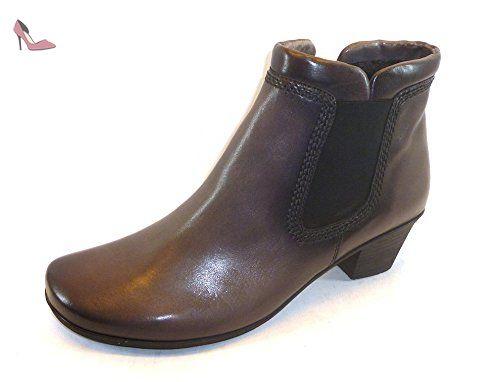 Gabor Shoes Comfort, Bottes Chelsea Femme, Bleu (Ocean 46), 40.5 EU