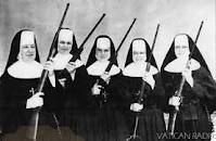 The Vatican Women's Rifle Team...disbanded in February, 1938.