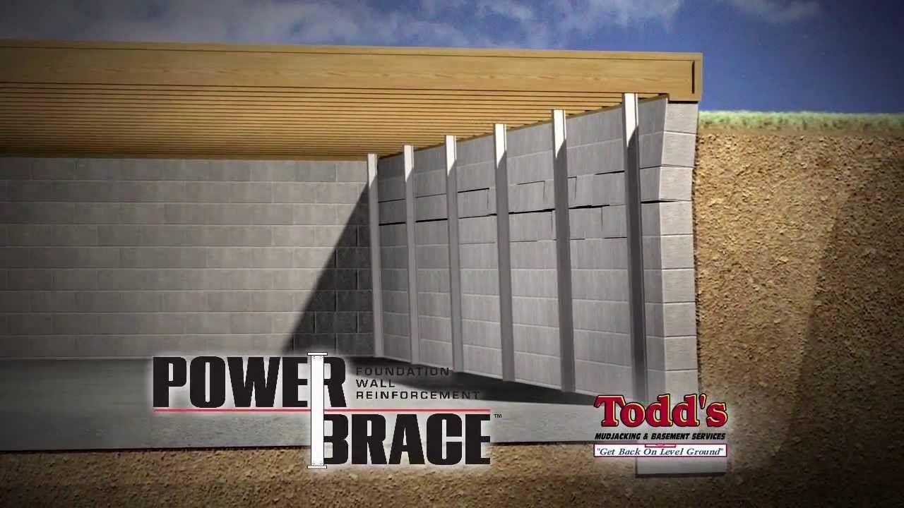 Gorilla Brace Basement Walls Basement walls, Basement