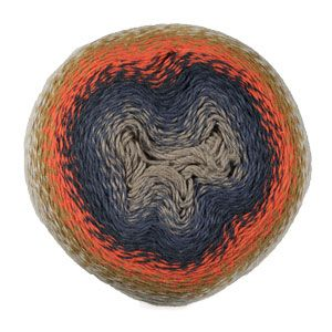 Scheepjes Whirl Yarn - 771 Jumpin' Jaffa Pop at Jimmy Beans Wool