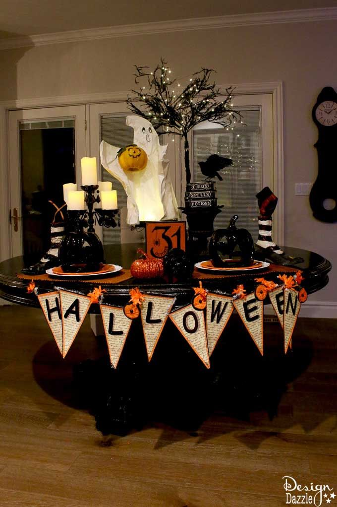 10++ Homemade halloween table decorations trends