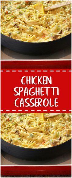 Chicken Spaghetti, Spaghetti