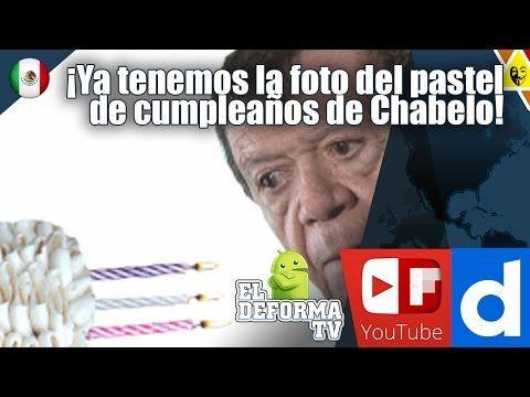 ¡Ya tenemos la foto del pastel de cumpleaños de Chabelo!