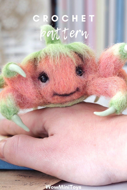Amigurumi pumpkin monster pdf