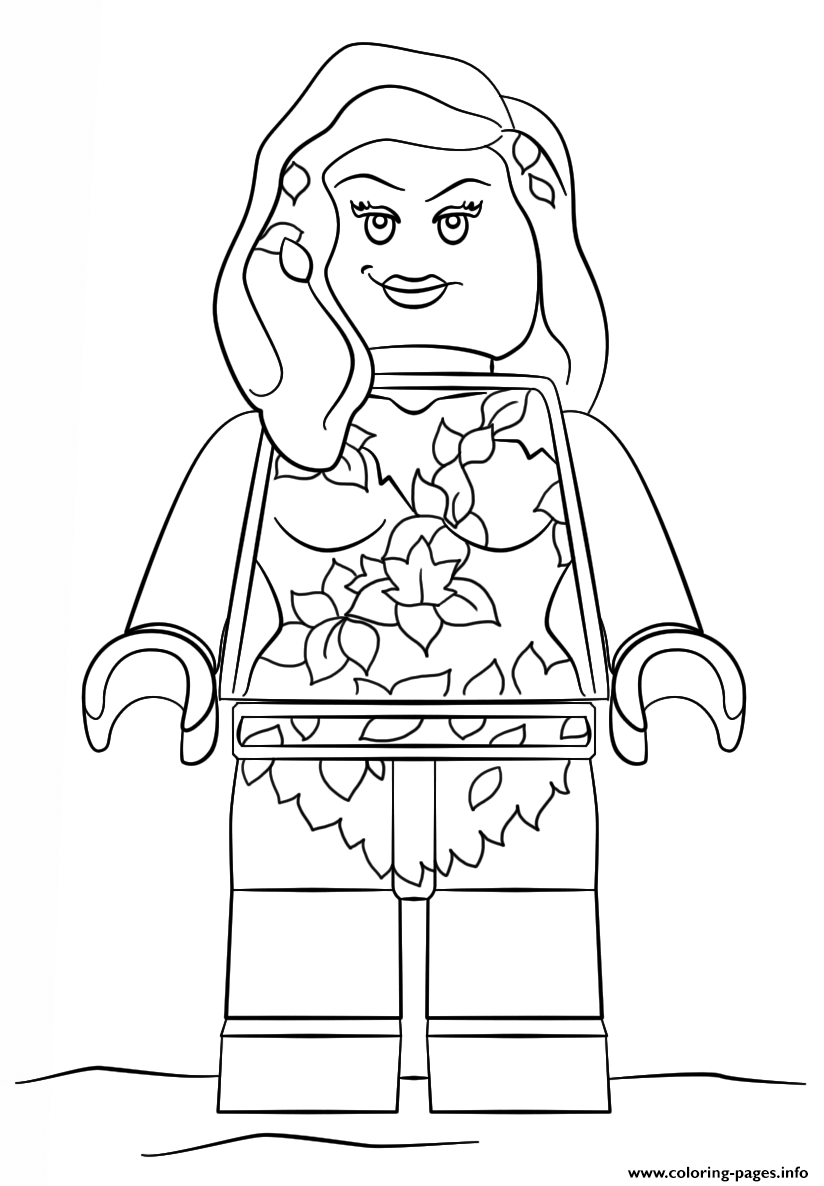 12+ Lego poison ivy coloring pages ideas in 2021