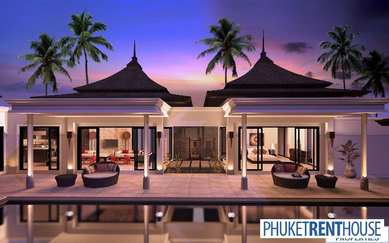 Bali Style House Plans Tal2283 Balinese Style Pool Villas For Sale Phuket Buy House House Plans House Bali House