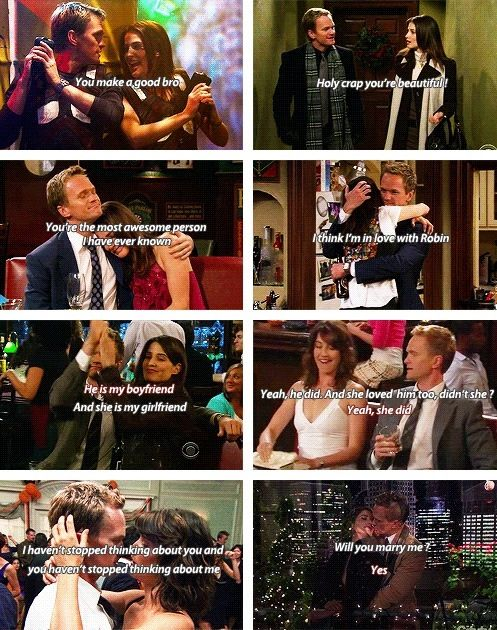 Himym Barney And Robin How I Met Your Mother Pinterest
