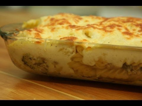 طريقة عمل معكرونة بالبشاميل مع الدجاج والبروكلي من زيتونة Recipes Skinny Pasta Recipes Syrian Food