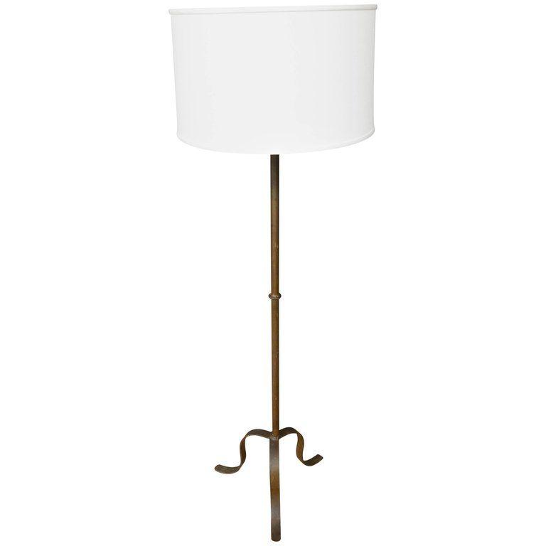 1930s Spanish Iron Floor Lamp Floor Lamp Flooring Cool Lamps
