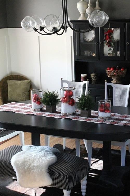 Christmas Dining Room Décor Ideas