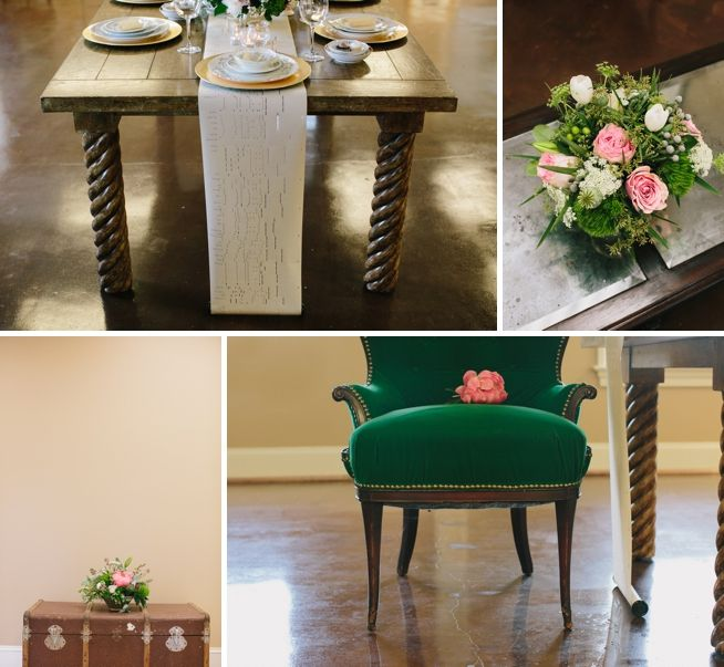 Inspiration Shoot | A Charleston Bride | CarolineRo Photography | 428 Main Vintage Rentals