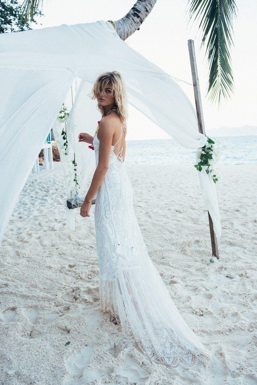 Spell Designs Bridal Casablanca Lace Halter Gown   Wedding dresses ...