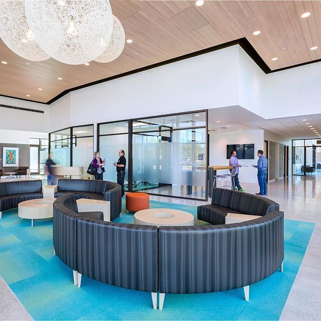 Coalesse Circa Seating And Tables Create A Comfortable Lounge Setting In  Cummins LiveWell Center Designed By. Healthcare ...