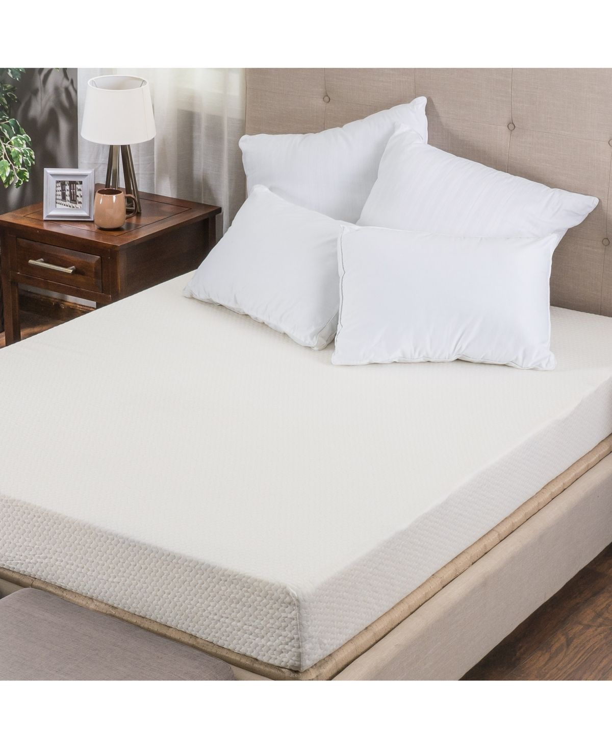 Om Basic 10 Medium Firm Mattress Twin Xl Mattress In A Box Reviews Mattresses Macy S Mattress Mattress Frame Foam Mattress