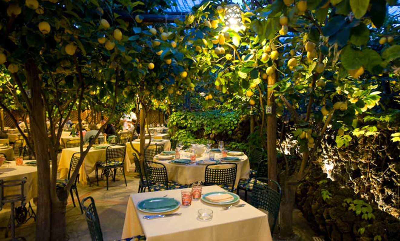 Where to Indulge on the Amalfi Coast Italy restaurant