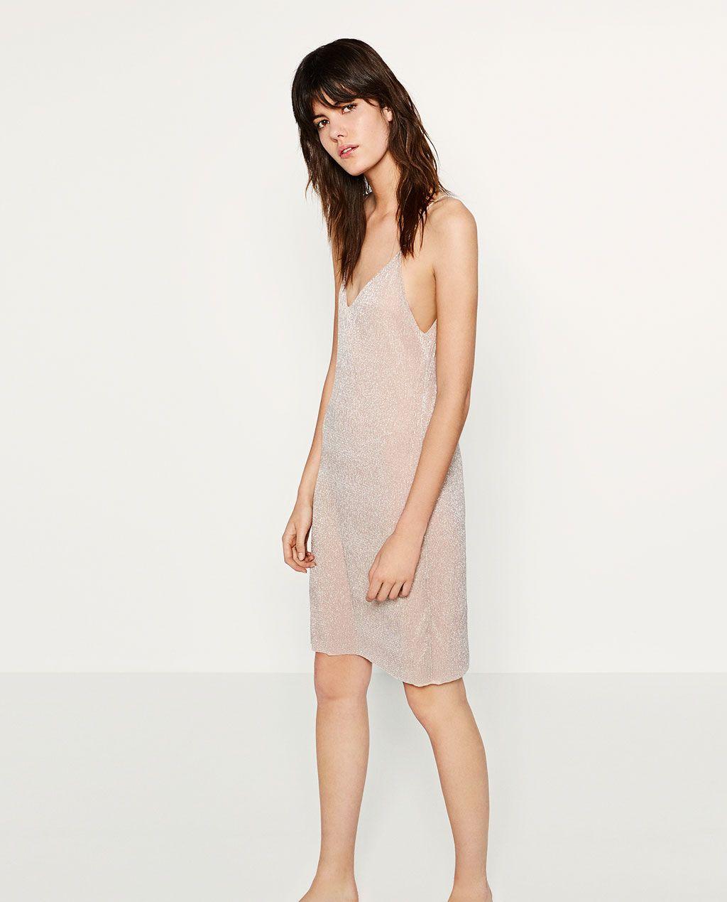1 Dress Dresses Image Shimmer From ZaraSummer Of Thread Style 3AjL5q4R