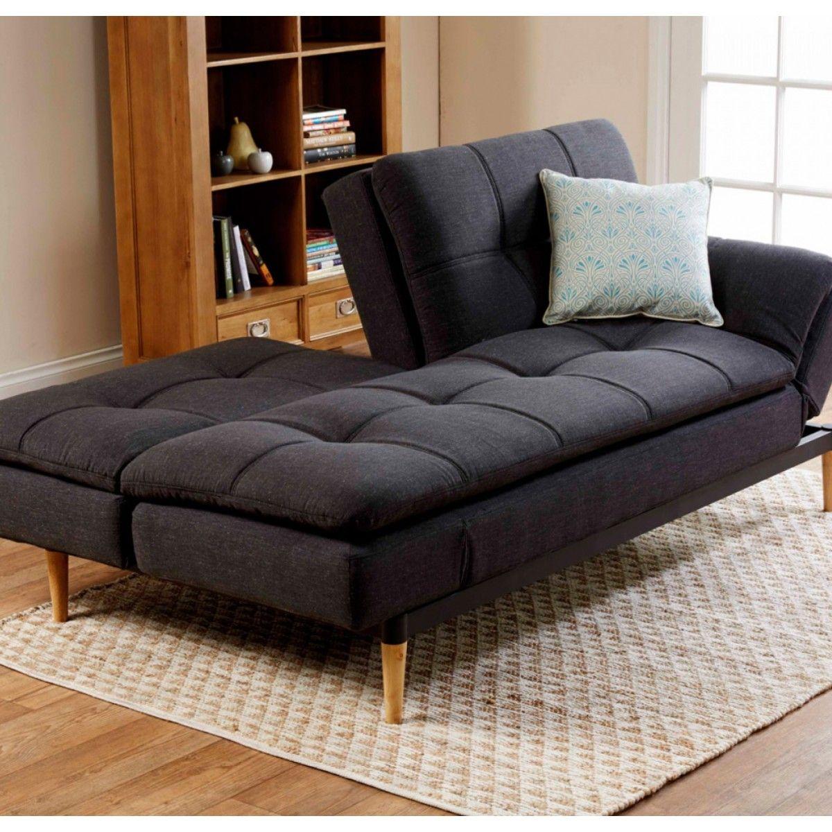 Early Settler NZ 1,300 Da Vinci Sofa Bed Charcoal Sofa