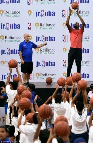 KD in India Warriors basketball team, Basketball academy
