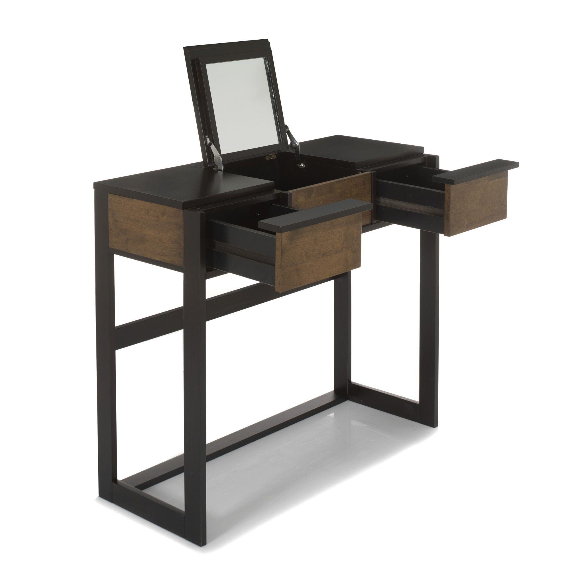 coiffeuse avec miroir spirit commodes chiffonniers et coiffeuses alinea produit. Black Bedroom Furniture Sets. Home Design Ideas