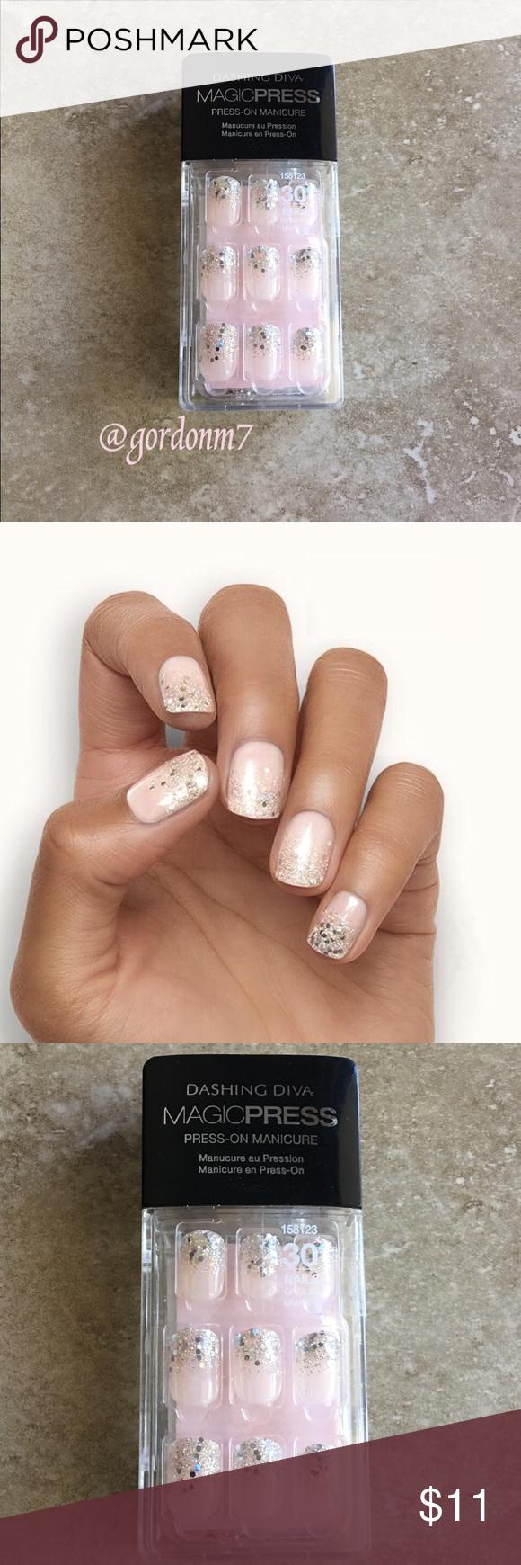 New Dashing Diva Glam Squad Press On Nails Diva Nails Nails Press On Nails