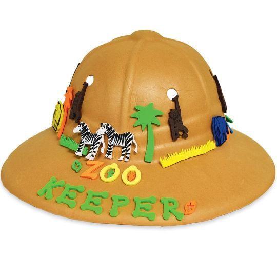 Zoo Keeper Hat Kids Zoo Zoo Keeper Zoo Birthday