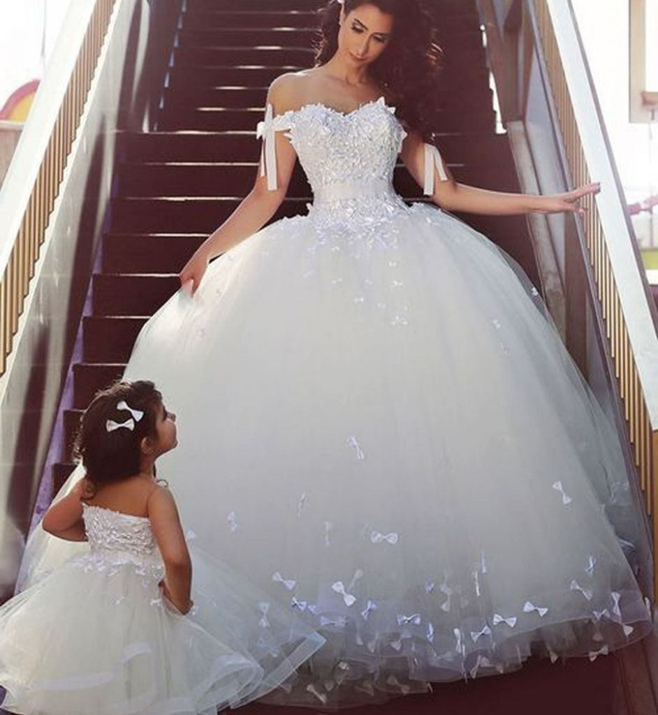 Princess bride wedding dress the princess style wedding for Dress of wedding style