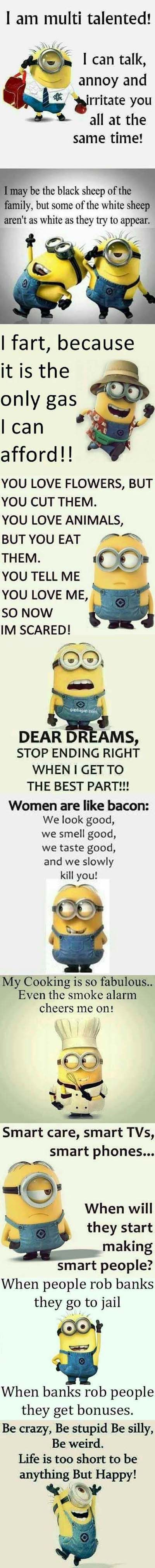 Funny Minions on Life and Love