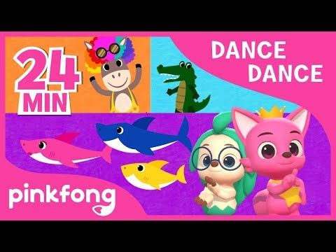 Baby Shark and more   +Compilation   Dance Dance ...