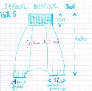 le sarouel robe bustier de l 39 t 2008 software generators patterns and tuto for creative. Black Bedroom Furniture Sets. Home Design Ideas