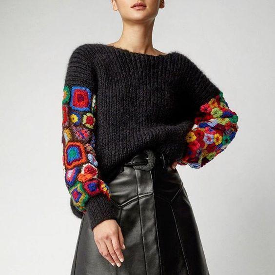 Échantillons de pulls tricotés – Mimuu.com   – Örgü Modelleri