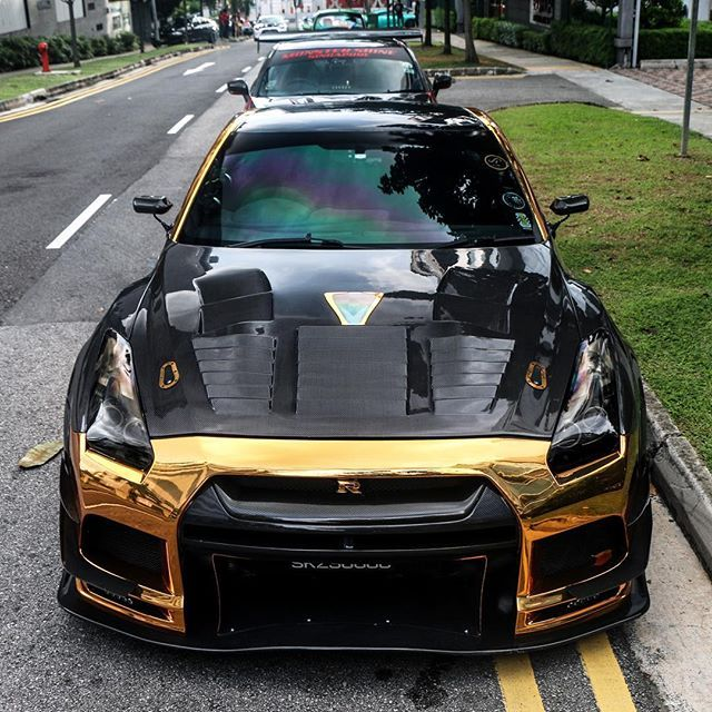 Chrome Zilla♤ #Nissan #GTR #Singapore #Godzilla #Japan #Jdm #