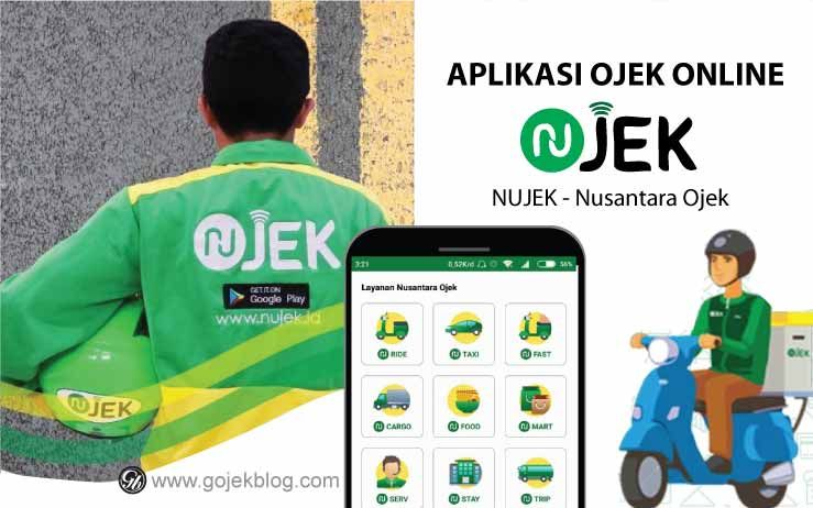 Aplikasi Ojek Online Nujek Aplikasi Pelayan Berita