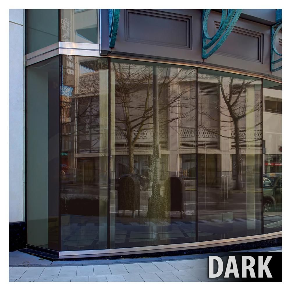 Buydecorativefilm 24 In X 50 Ft Prbr Premium Color High Heat Control And Daytime Privacy Bronze Window Film Cprbz1524050 The Home Depot Window Film Window Films Window Film Privacy
