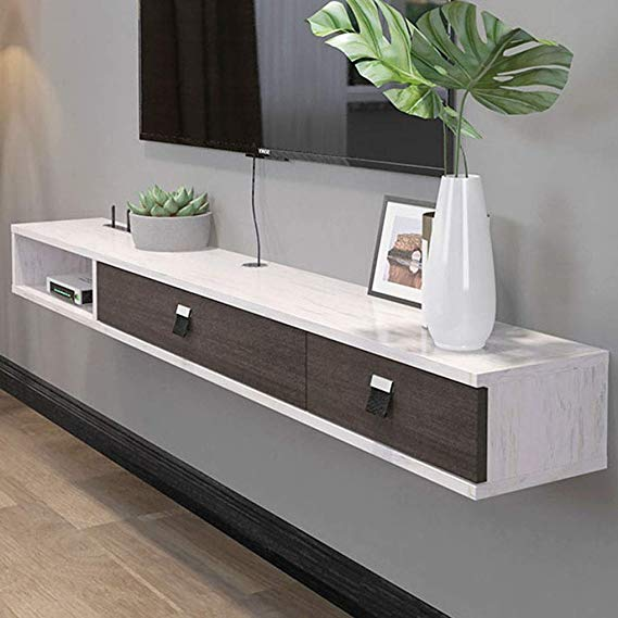 21++ Floating console shelf with drawer ideas in 2021