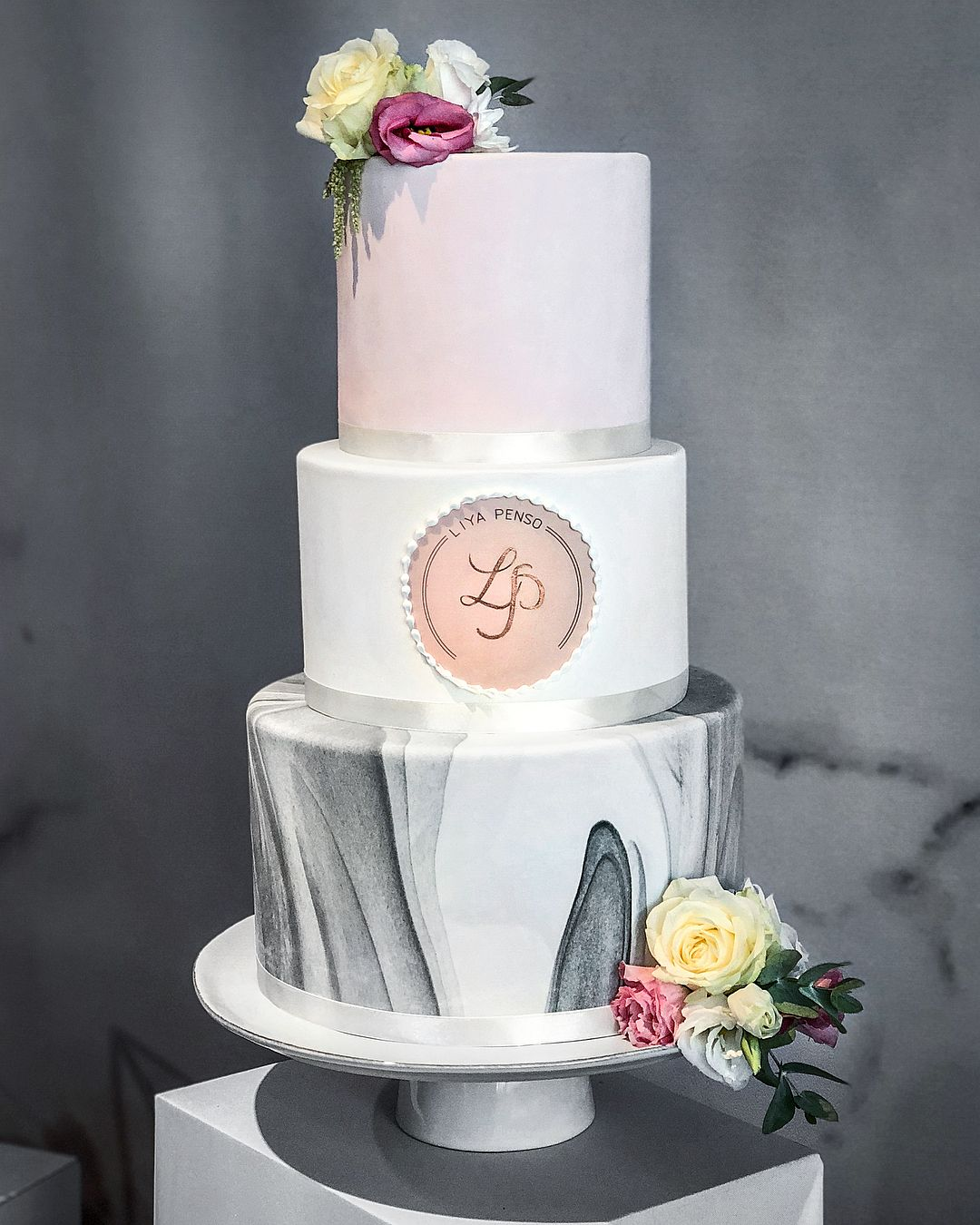 Jewish Wedding Food: Marble And Rose Gold Bat-mitzvah For The Sweet Liya