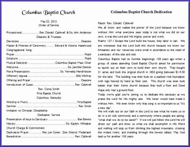 image result for church bulletin templates for pages bulletin info