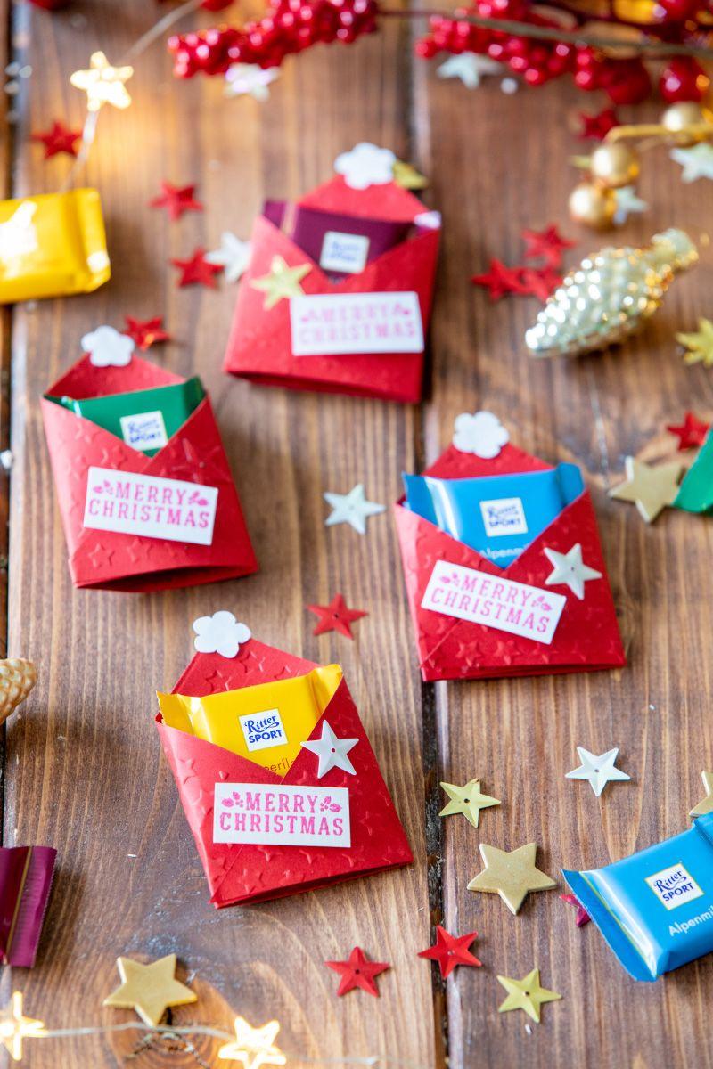 3 DIY Geschenke: Rudolph-Schokoladen-Glas, Schokoladen-Zipfelmützen und Schokokeks-Backmischung im Glas – TRYTRYTRY #kleinigkeitenweihnachten