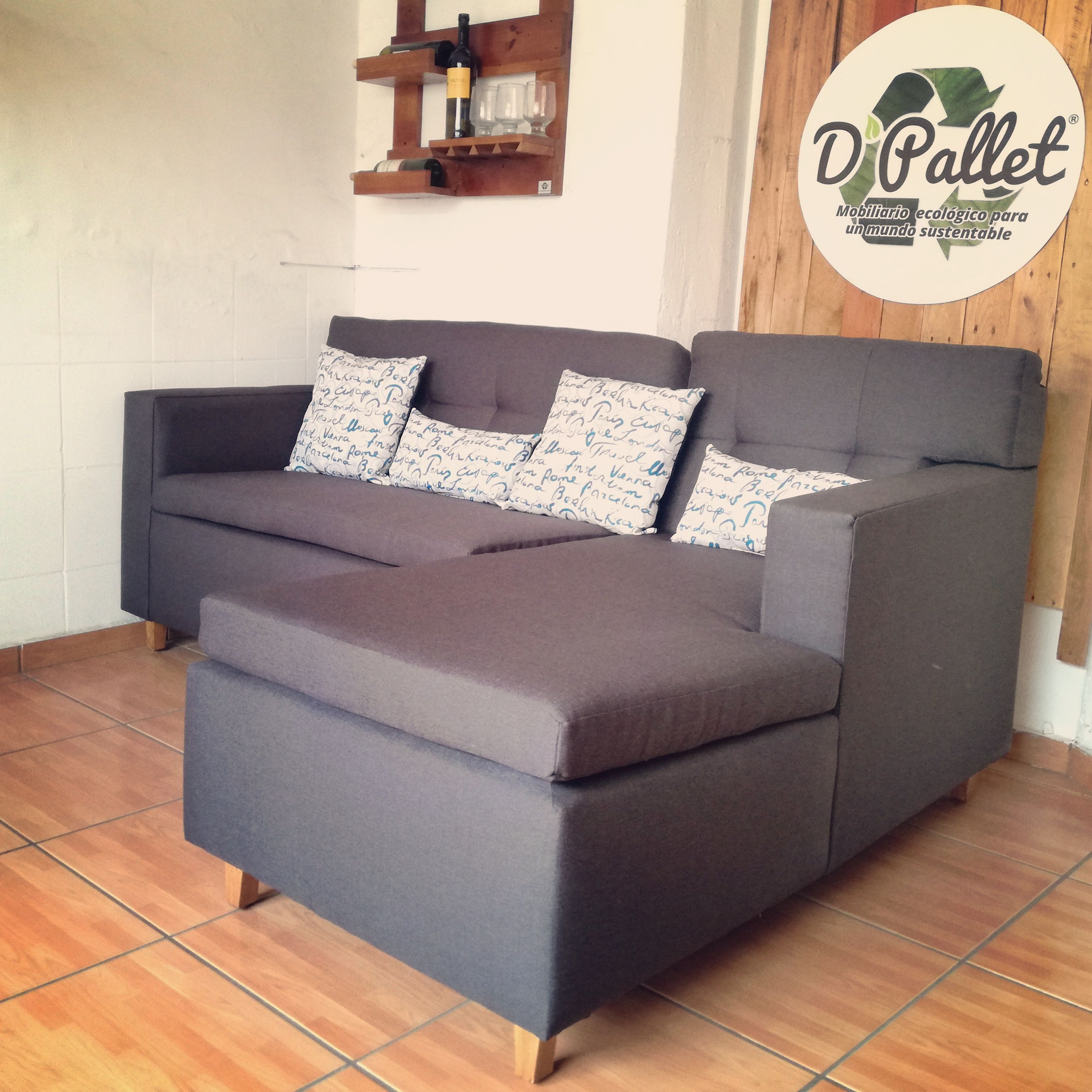 Pallet Palletfurniture Eco Interiorismo Guadalajara Df  # Muebles Guadalajara
