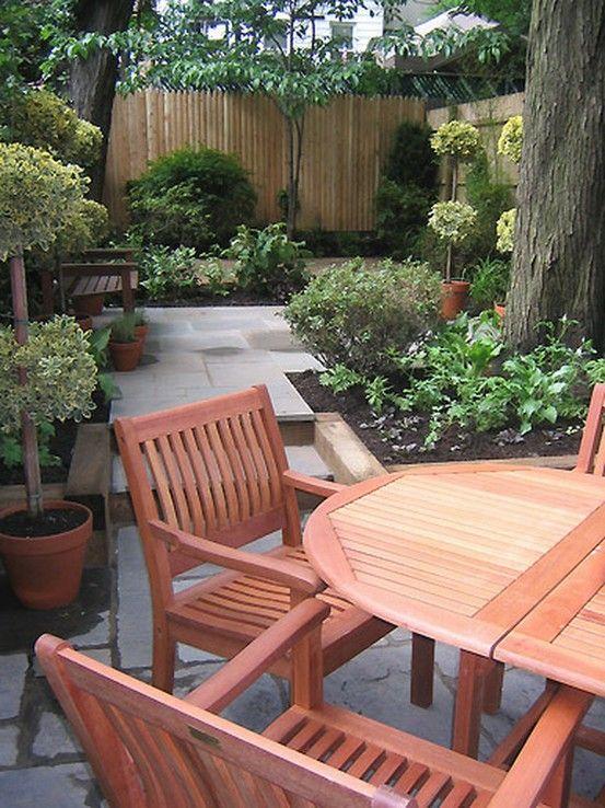 Small backyard ideas for design | Gardening & Yard | Pinterest