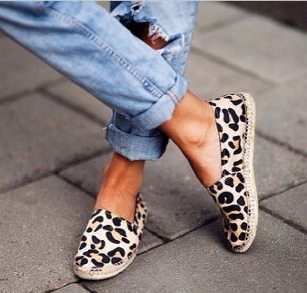 955da4a95b7 shoes leopard print summer shoes animal print espadrilles stylish ...