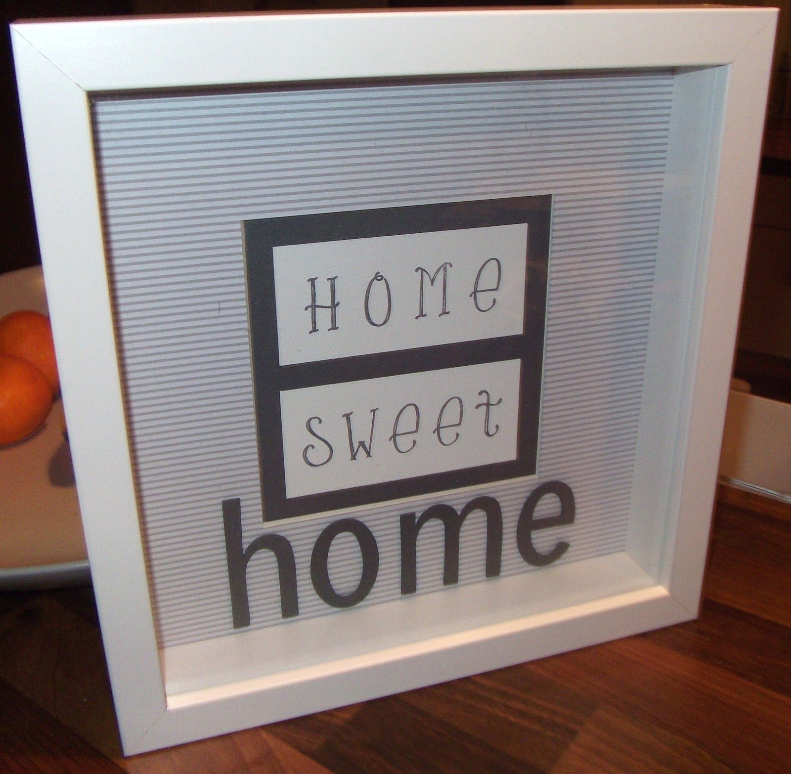 Ribba-Rahmen Home Sweet Home | ikea RIBBA | Pinterest | Rahmen ...