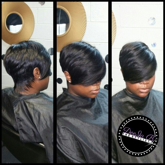 27 Piece Quick Weave By Deeja B The Stylist Www Deejabthestylist Com 27 Piece Quick Weave 27 Piece Hairstyles Quick Weave