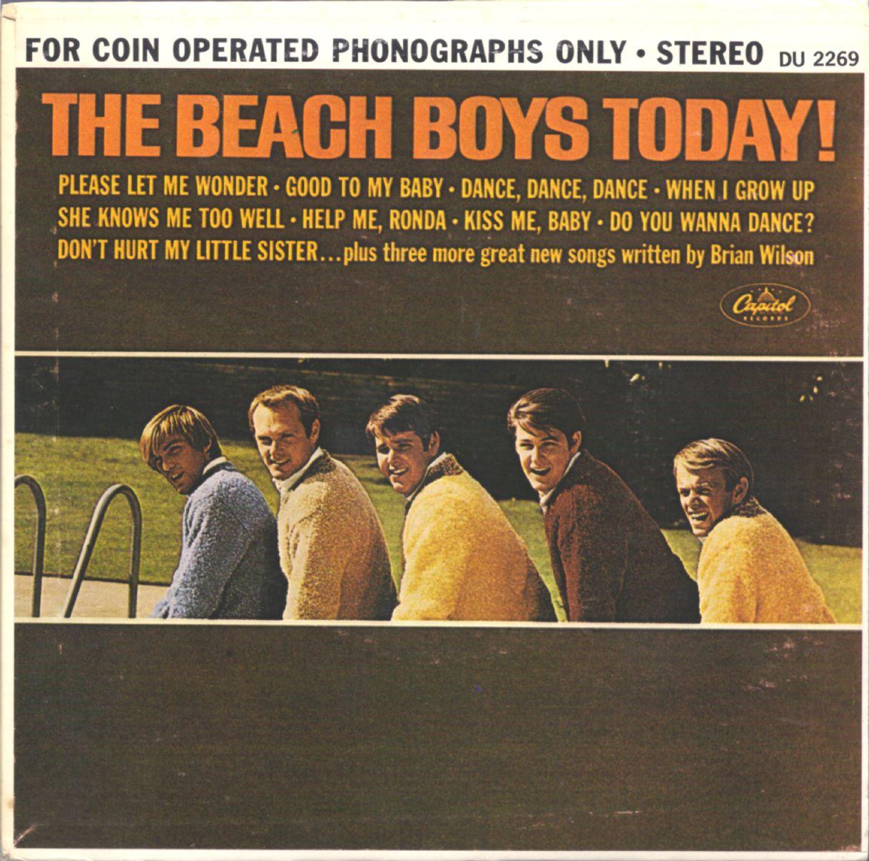 the beach boys the beach boys today 1965 vinyl pinterest jukebox and brian wilson. Black Bedroom Furniture Sets. Home Design Ideas