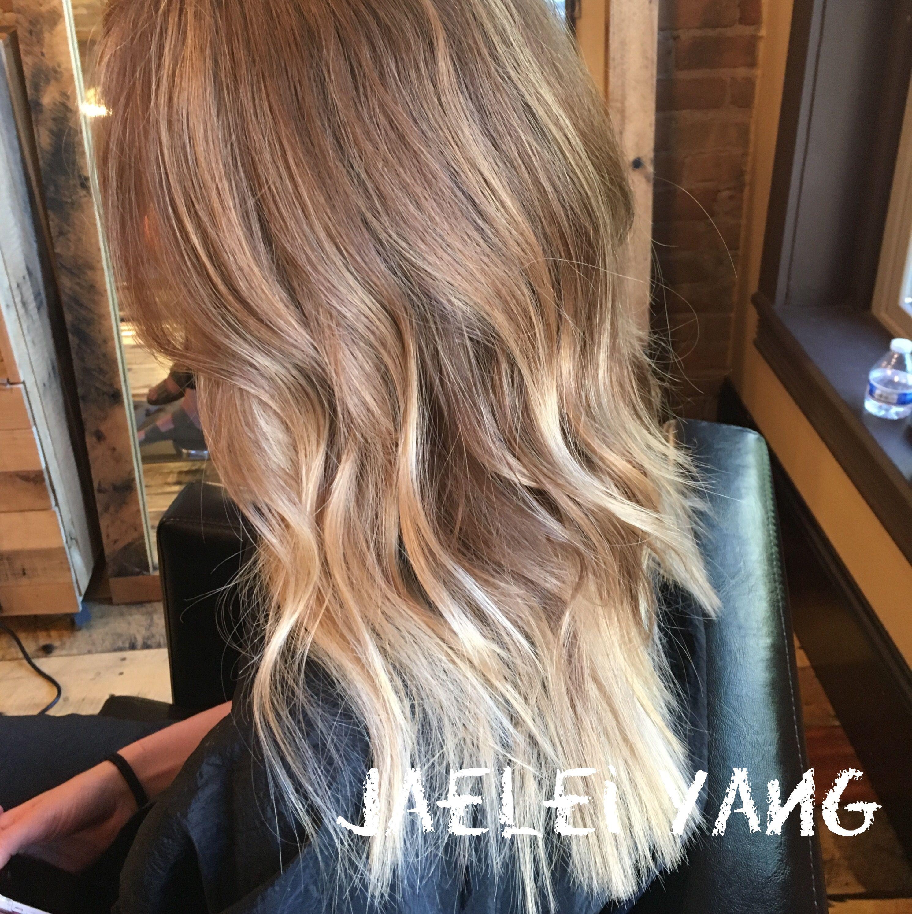 Balayage By Jaelei At Bold Salon 207 W College Ave Appleton Wi 54911 920 931 2737 Jaeleiyangbeauty WordPress Com Hair Balayage Hair Styles