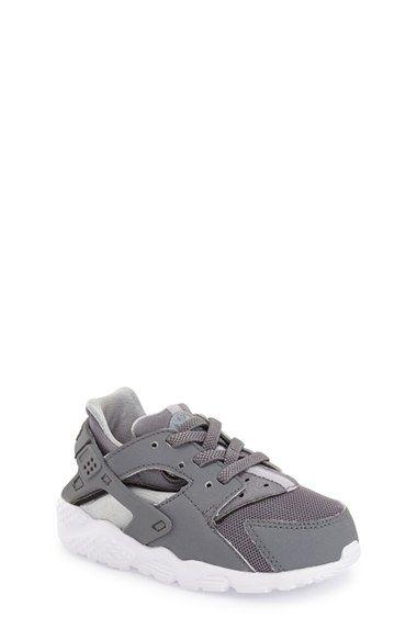 Zapatos negros Nike Huarache infantiles BomjvN