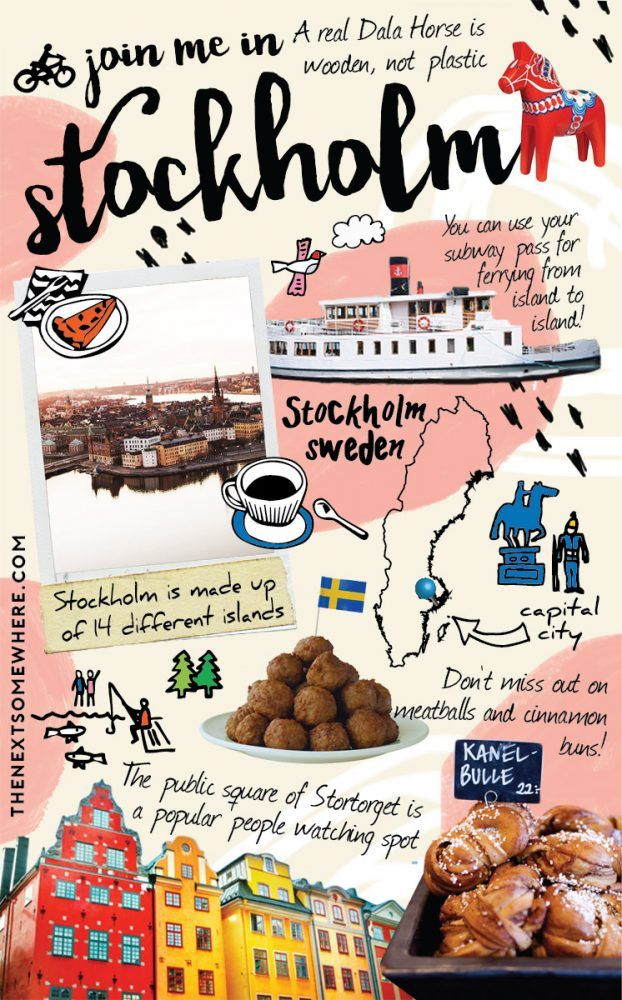Top Five Things to Do in Stockholm, Sweden with @The Next Somewhere