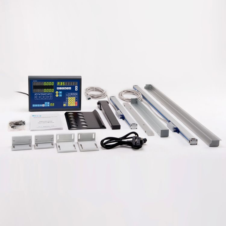 digital readout and linear scale with all the accessory