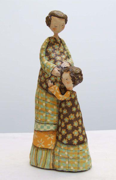 Papier Mache Sculpture   Sculptures en papier mâché - Delphine BLAIS ...