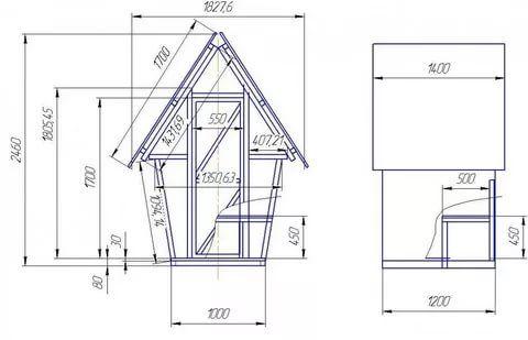построить туалет на даче своими руками: 12 тыс изображений ...